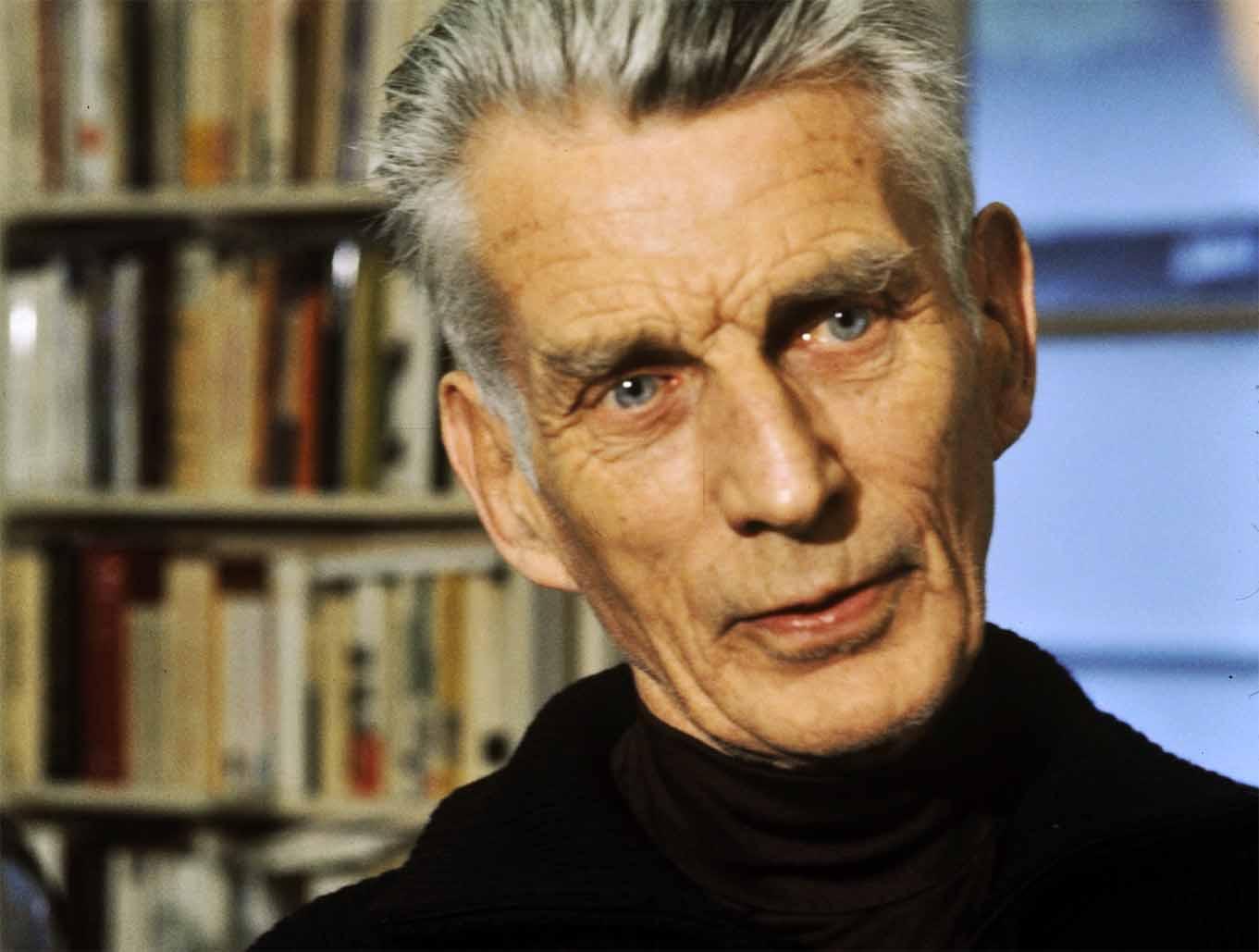 Der Dramatiker Samuel Beckett