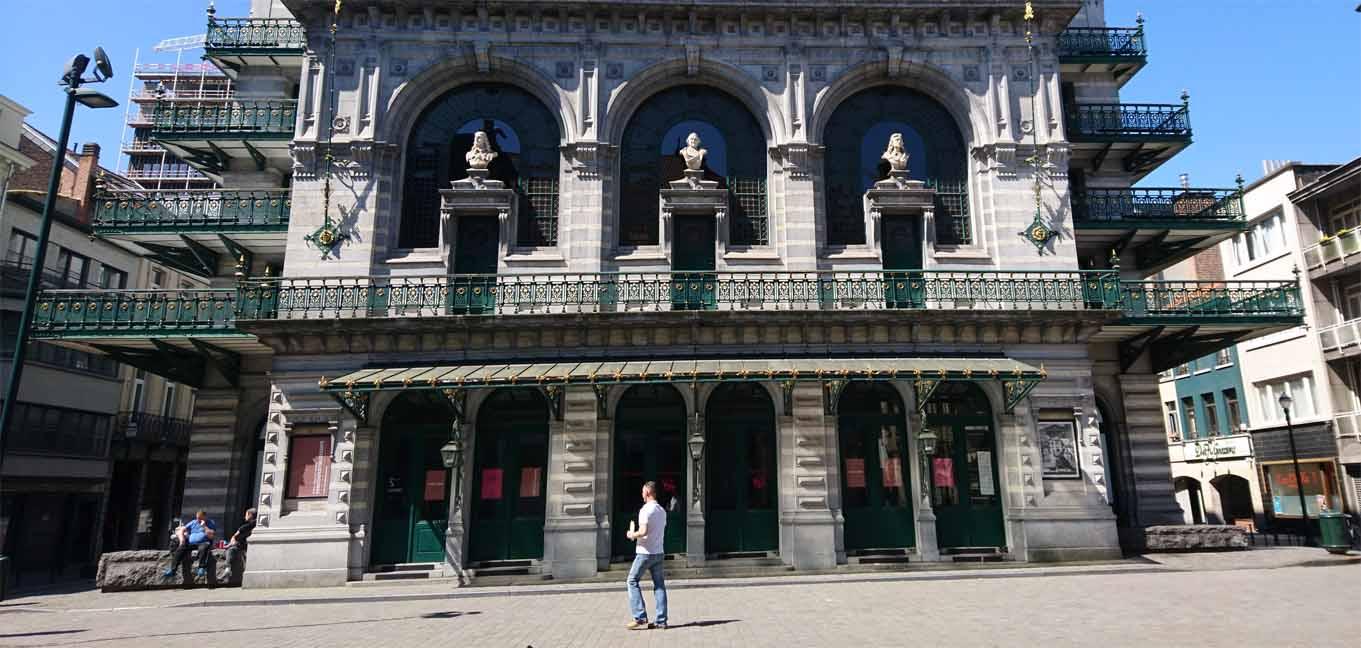 Die Koninklijke Vlaamse Schouwburg, ein flämisches Theater in Brüssel